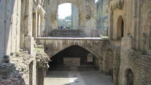 The remains of the Lady Chapel today.