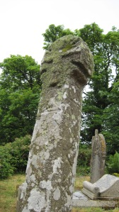 One of the ancient Celtic crosses, rare for both its age and the fact that there's a crucifix on one side.