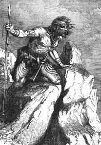 Caledonian Pict by Iantresman via Wikimedia Commons [public domain]