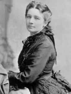 Victoria C. Woodhull, first American to run for President. Ran against Grant and Greeley, 1872.