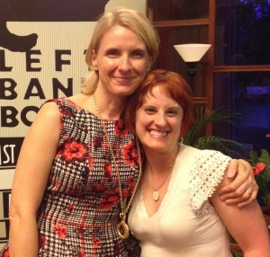 Elizabeth Gilbert and me, July 2014