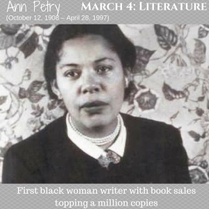 First black woman writer with book sales topping a million copies