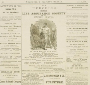 Ad page, August 5, 1871