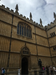 Exterior of the Bodleian Library